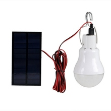 цена на Portable Rechargeable Light Solar LED Outdoor Work Camp Light Camping Tent Lighting Home