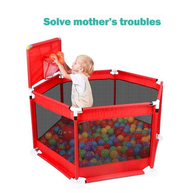 Playpen for Children Playpen Pool Balls Baby Playpen For 0 6 years Ball Pool for Baby