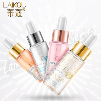 LAIKOU Serum Japan Sakura Essence Anti-Aging Hyaluronic Acid Pure 24K Gold Whitening Vitamin C The Ordinary Skin Care Face Serum