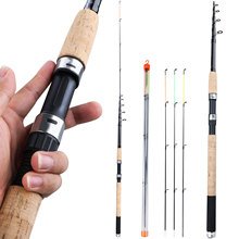 Sougayilang 3.0M 3.3M 3.6M L M H Power Feeder Fishing Rod Spinning with Free Accessories Travel Rod De Pesca Carp Feeder Pole