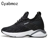 6cm 8cm 10cm Men New Style Fashion Comfortable Casual Shoes Height Increasing Sneakers Invisible Increase Breathable Shoes