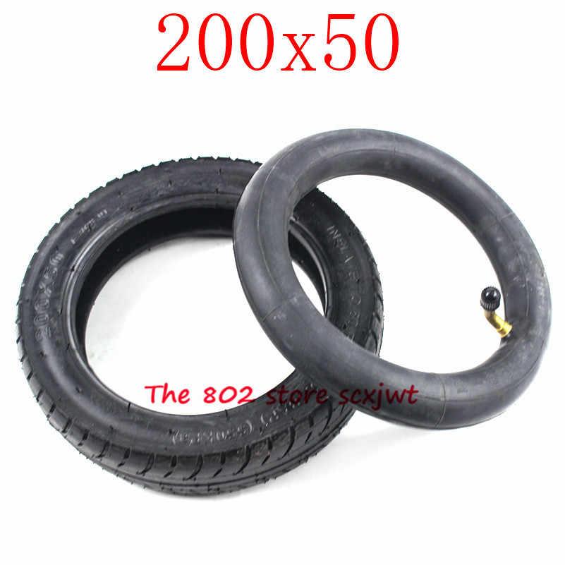 200x50 חשמלי קטנוע צמיג 200*50 צינור צמיג קטנוע צמיג 8*2 ''חשמלי גז קטנוע כיסא גלגלים פנאומטיים צמיג