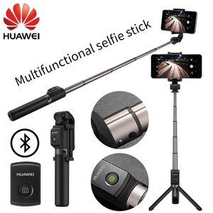 Image 1 - Huawei Honor Palo de Selfie portátil, con Bluetooth 3,0, AF15 Control inalámbrico, monopié de mano para IOS, Android, Samsung y xiaomi