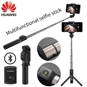 Image 1 - Huawei Honor Selfie Stick Tripod Portable Bluetooth3.0 AF15 Wireless Control Monopod Handheld for IOS Android Samsung xiaomi