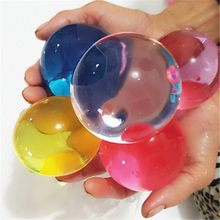 50pcs! Large Hydrogel Pearl Big Crystal Soil Mud Hydrogel Gel Water Beads Mud Grow Ball for Wedding Home Decor Kids Children Toy