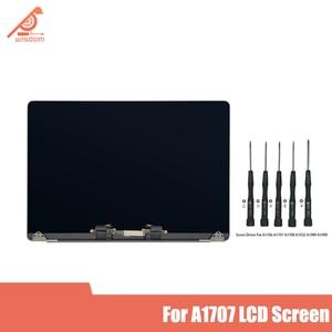 Montagem nova cinza assembléia tela lcd para macbook pro retina 15