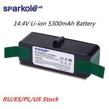 5.3Ah 14.8V Li Ion Batteria per iRobot Roomba Serie 500 600 700 800 510 531 555 560 580 620 630 631 650 670 770 780 790 870 880