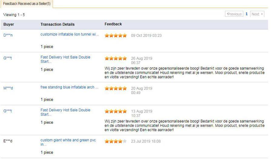 feedback infor2