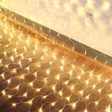 LED Stringlight Net Mesh Fairy Lights for Festival Wedding Christmas Party Decoration JDH99
