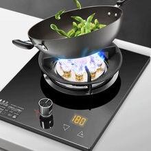 Cozinha embutido fogão a gás do agregado familiar único fogão de placa de fogão a gás natural desktop fogão quente cronometrado placa de gás liquefeito