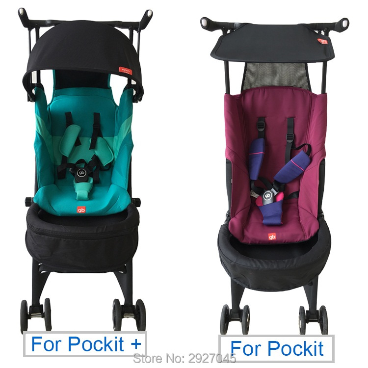 Image 2 - Baby stroller accessories extend footboard extension footrest footmuff for Goodbaby Pockit 2019/ Pockit plus/ Pockit+/ GB PockitStrollers Accessories   -
