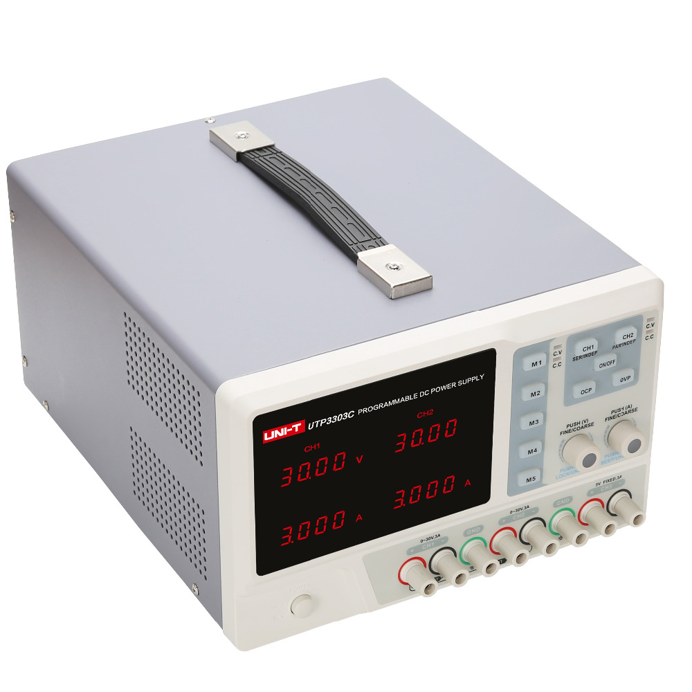 UNI-T 4-output USB Charging Programmable Linear DC Power Supply 9