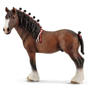 5inch For North America Clydesdale Ding Horse Toy Doll Figure 13808 NEW PVC Hand Animal Model Collection Children Horse ModelToy