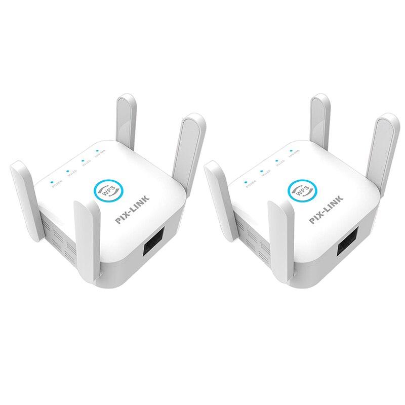 Двухчастотный усилитель беспроводного сигнала PIX-LINK 1200M, ретранслятор Wi-Fi, сфера применения широкополосного маршрутизатора