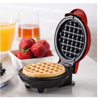 Electric Bubble Egg Waffle Maker In Microcomputer Type With Tube Heating To Make Breakfast