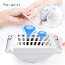 45000RPM Nail Dust Collector Desktop Built in Machine Suction Vacuum Fan Cleaner Nail Art Salon Manicure Equipment