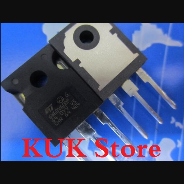 Original 100% NEW GW60V60DF STGW60V60DF 600V 120A IGBT TO-247 10PCS/LOT