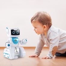 Remote Control Intelligent Robot Touch Sensing Action Figure RC Robotic Toy Gift XX9E