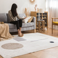 Simple Soft Shaggy Carpet Living Room Nordic Bedroom Fluffy Rug Sofa Coffee Table Floor Mat Kids Room Crawling Rugs And Carpets