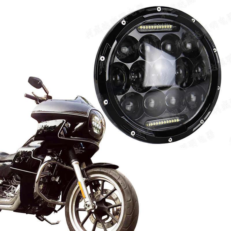 をベクトラオートバイ修正されたヘッドランプ 7 インチジープ · ラングラーのヘッドライトランプ 75 wled 自動ランプ