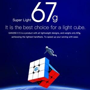 Image 2 - GAN356X S Magnetic Magic Speed Gan Cube Professional Stickerless GAN356XSแม่เหล็กก้อนGAN356 X S 3X3ปริศนาลูกบาศก์Gans