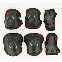 NEW Hot 6pcs/set  Skating Protective Gear Sets Elbow pads Bicycle Skateboard Ice Skating Roller Knee Protector For Adult  Kids