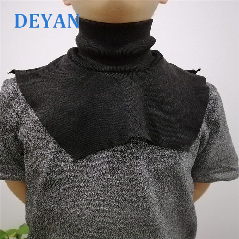 Black Self-defense Stab Proof Neck Protector Safety Protection Tactical Neck Cover Police Security Staff Security Clothing
