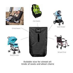 Image 2 - תינוק מכונית מושב נסיעות תיק עבור Airplan תינוק בטיחות מושב ארגונית עגלת שער לבדוק תיק עבור מעופף Pram באגי אחסון תיק