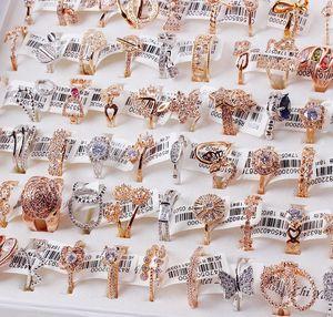 36 шт./лот, модное женское кольцо из сплава, оптовая продажа, роскошное женское Ювелирное кольцо, оптовая продажа