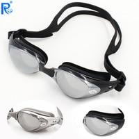 Swiss e prescrição óculos de natação grande quadro óculos de natação masculino e feminino miopia álcool por volume à prova dwaterproof água a|Óculos de segurança| |  -