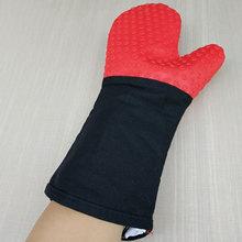 14 дюймов пищевой толстые термостойкие силиконовые перчатки барбекю гриль перчатки Кухня барбекю печь кулинарные рукавицы выпечка, гриль перчатки