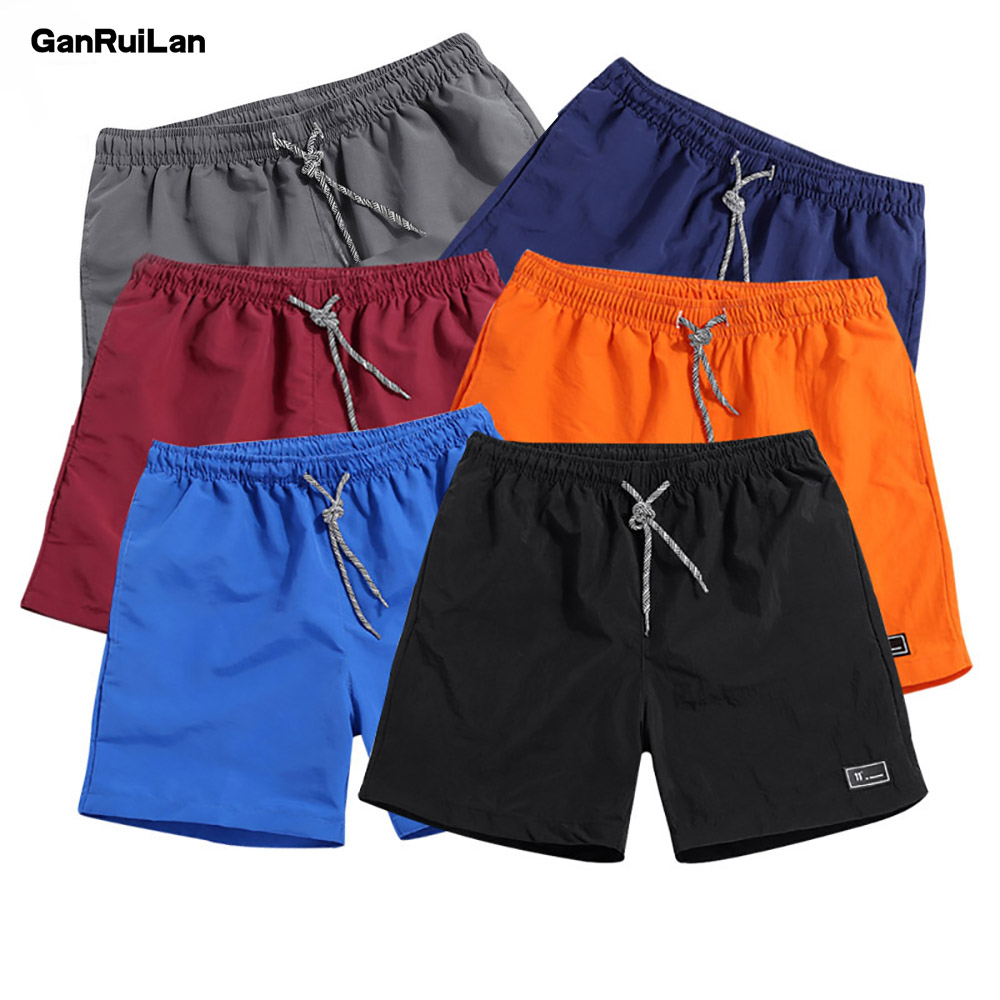 Casual Shorts Quick Dry Sportswear Jogger Beach Short 2020 Summer Male Fitness Bodybuilding Brand Shorts Breathable Sportswear