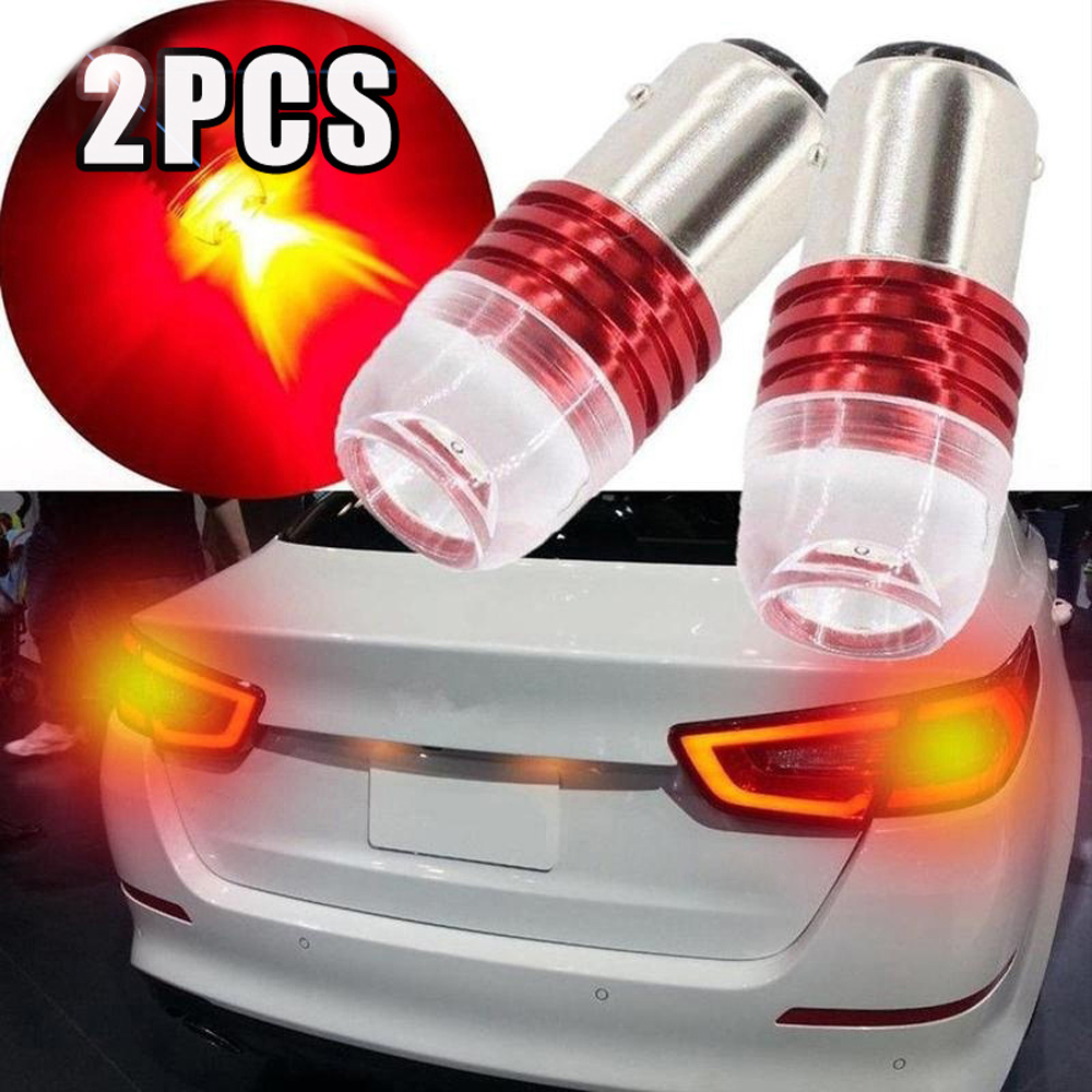 2pcs Motorcycle Light Strobe Flashing 1157 1156 5730 LED Car Tail Brake Light Projector Lamp Bulb decorative lighting