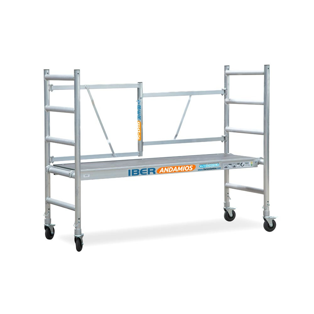 Scaffold Folding In Aluminum EVO With Platform