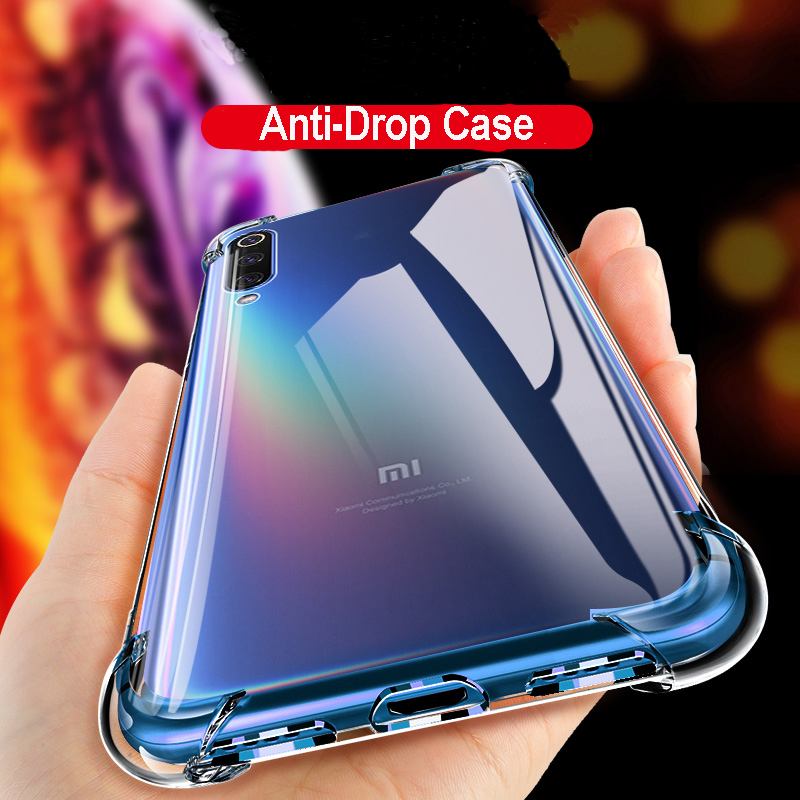 Shockproof Case For Xiaomi Redmi Note 7 Pro Note 8 Pro Case Cover Silicone Shockproof Xiomi Redmi7A 8A 8T Transparent Protective