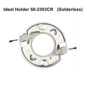 Image 2 - DIY CREE COB CXB3590 led 조명 부품 이상적인 홀더 50 2303CR 핀 핀 방열판 Meanwell 드라이버 100mm 유리 렌즈/반사경
