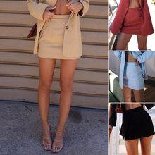 Юбки карандаш с высокой талией базовые юбки для офиса женские