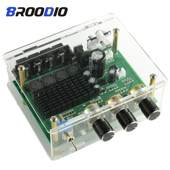 цена на TPA3116D2 Digital Audio Amplifier Board 2.0 Channel 80W*2 Stereo Amplifiers Sound Preamplifier Tone High Power For Home Speaker