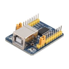цена на Blue 40*29*13 mm 35g FT232RL USB to TTL Serial Converter Adapter Module 5V and 3.3V For Arduino Over-Current Protection