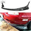 Для Mazda MX5(1989-1997) NA родстер Miata R Bunny широкий корпус из углеродного волокна передняя часть для тюнинга губ Накладка для Miata углеродный бампер дл...