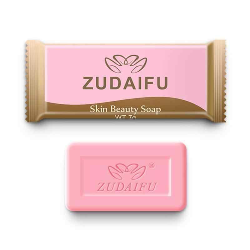 Mini azufre jabón las condiciones de la piel acné, psoriasis seborrea tratamiento de eczema champú jabón Anti hongo baño blanqueamiento jabón 7g 1 Uds