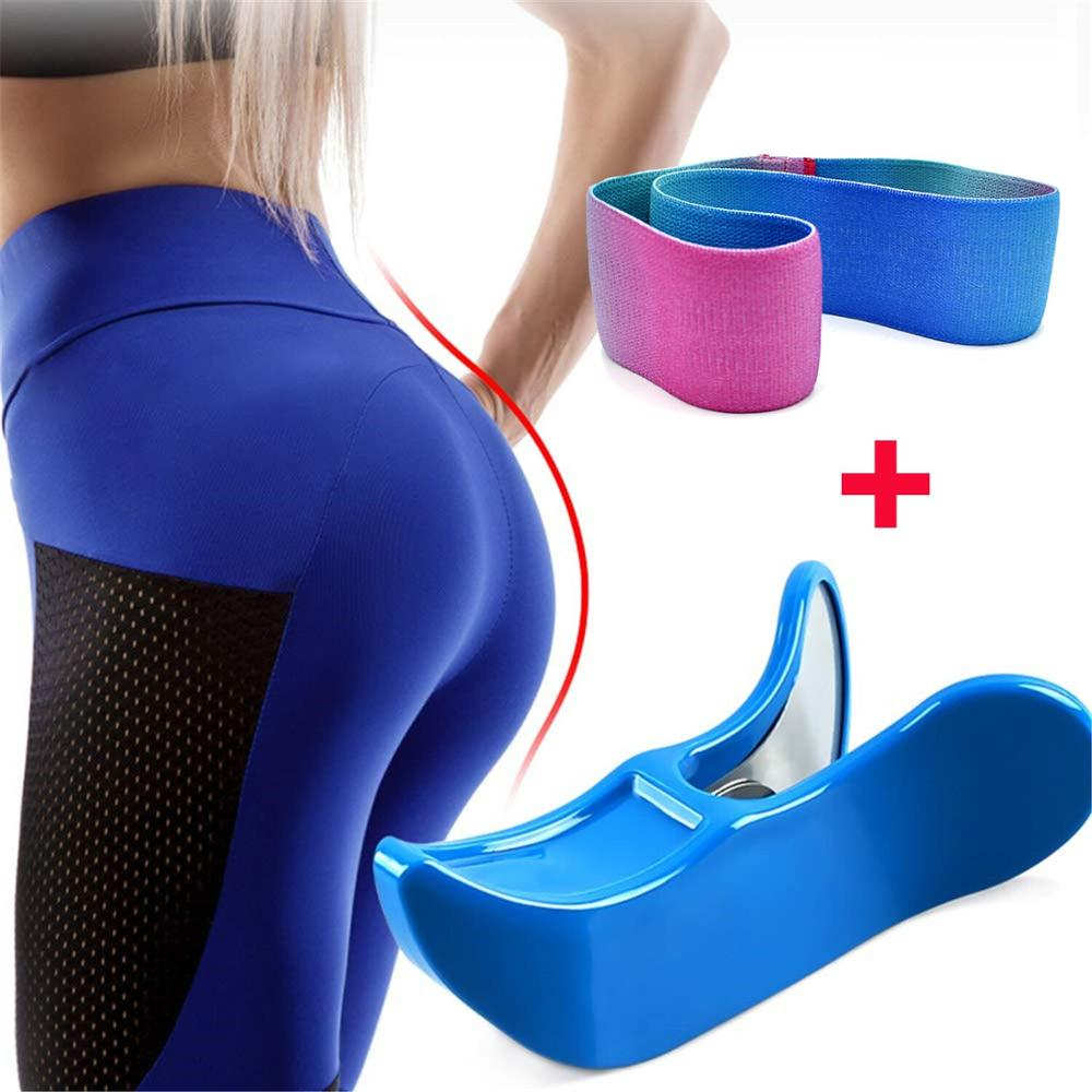 Narcissism Hip Trainer Pelvic Muscle Inner Thigh Exerciser Booty Band Bodybuilding Home Fitness Equipment Buttock Control Device