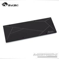 Bykski placa traseira de metal  uso para amd radeon rx5700/5700xt gpu bloco/apenas compatível bykski 5700 bloco 3mm espessura
