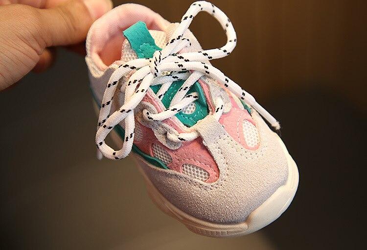 apartamentos tênis moda casual infantil macio primeiro walker sapatos