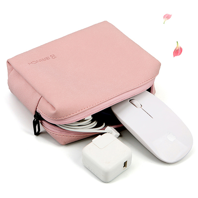 Cute Pink Laptop Sleeve Bag For Female With Free Extra Mouse Bag 2
