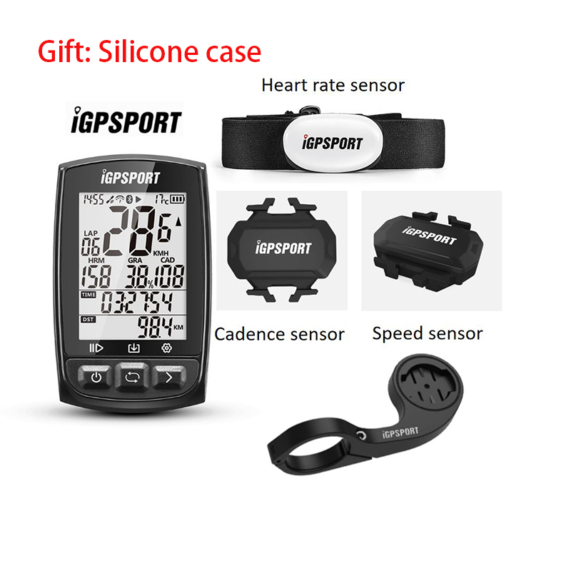 IGPSPORT IGS50E ANT+ GPS Bluetooth Bicycle Wireless Stopwatch Speedometer Cycling Bike Computer Support Waterproof