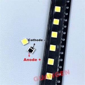 Image 2 - 500 ピース/ロット交換することができる lg 3535 2 ワット 6 12v クールホワイト液晶テレビの修理 led テレビバックライトストリップライト発光ダイオード smd