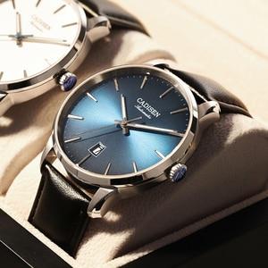 CADISEN 2020 New Mens Watches Top Brand Luxury Wristwatch Men Automatic Mechanical Watch Men MIYOTA Movement Relogio Masculino
