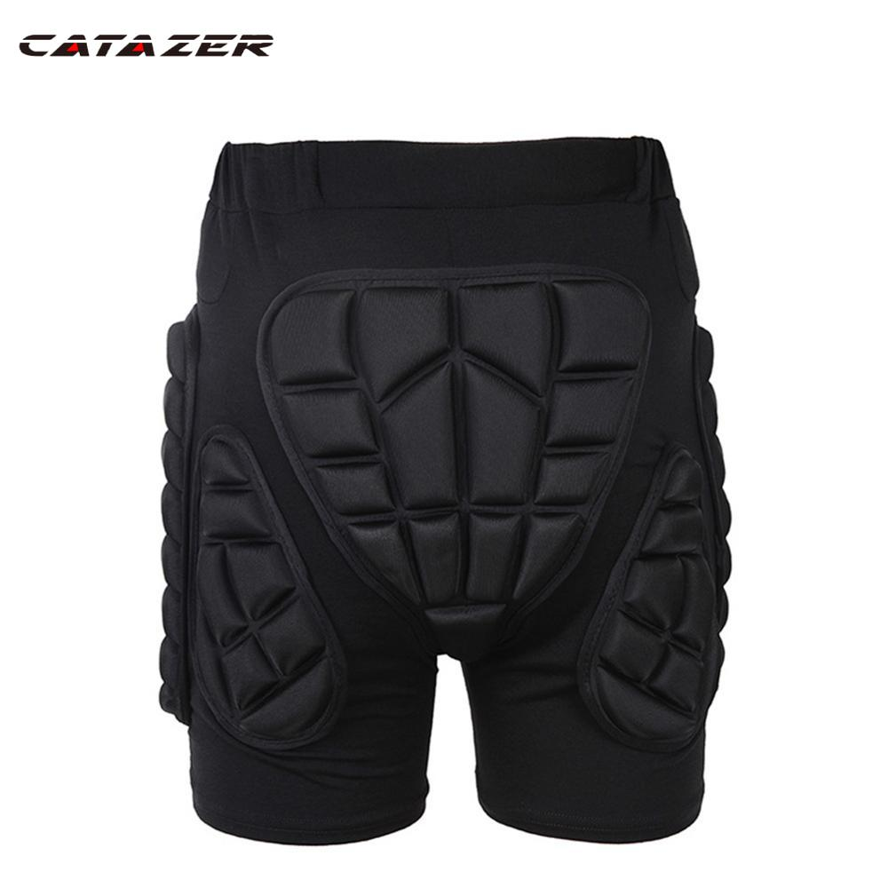 Catazer Outdoor Total Impact Hip Pad Protective Shorts Light Snowboard Ski Skating Hip Protection Padded Sports Gear Unisex