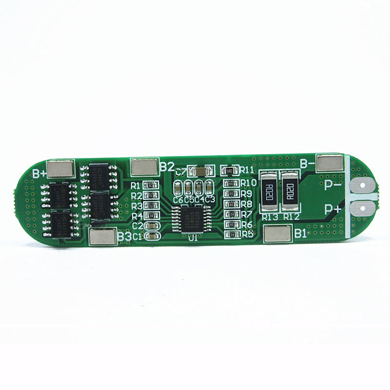 14.8V 18650 4S Lithium Polymer Battery Protection Board 16.8V Anti-overcharge Over-discharge 10A Current Limit